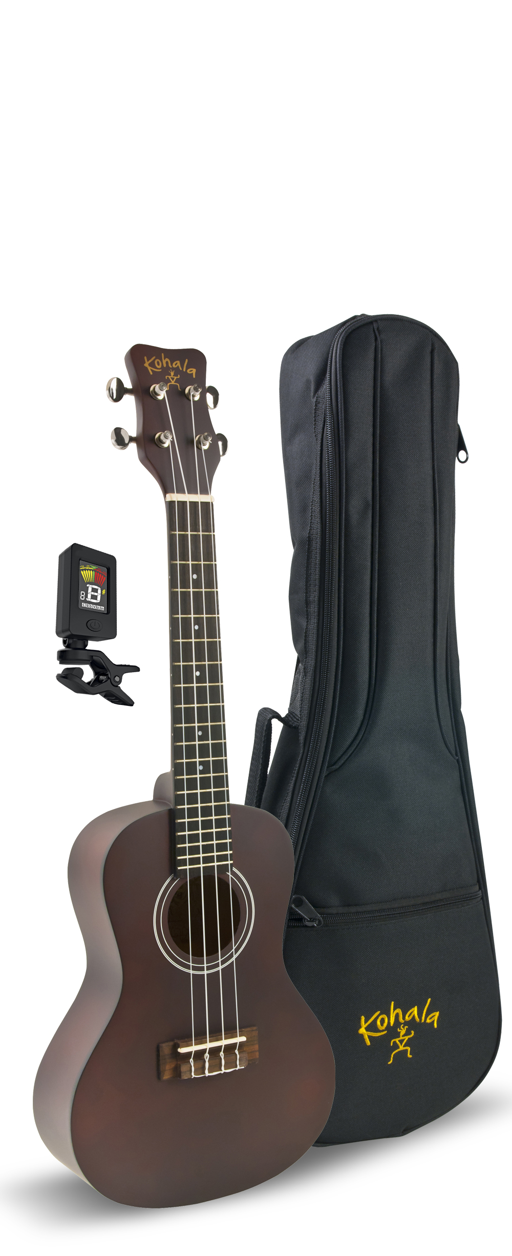 Kohala KPP-S Soprano Player's Pack with Uke, Bag, Tuner