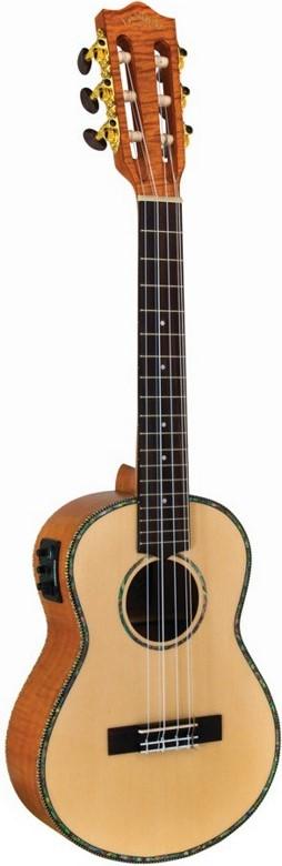 Lanikai Legacy Collection Spruce 6 String Acoustic Electric Tenor Ukulele