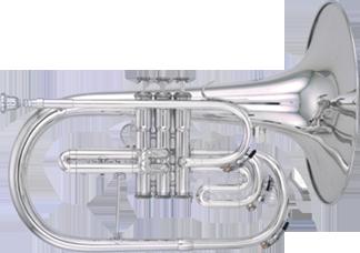 Kanstul Model 281 F Marching Mellophone