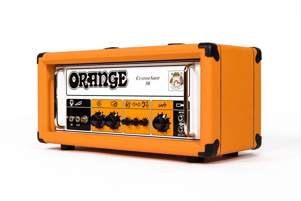 Orange Custom Shop 50 Guitar Amp Head