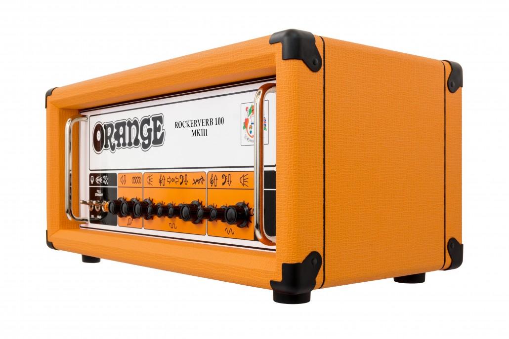 Orange Rockerverb 100 MKIII Black Guitar Amp Head