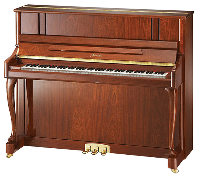 Ritmuller UH 121R Cabriole Leg Studio Upright Piano