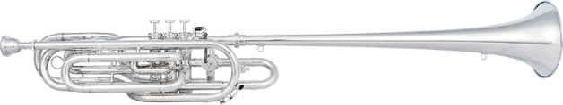 Kanstul Model 1190 Herald Bass Trumpet in Bb