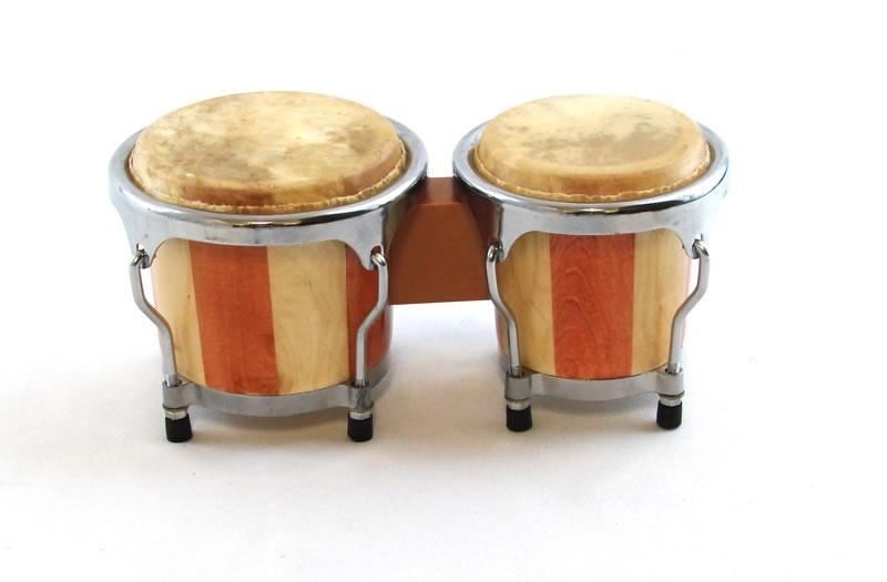 Trixon Mini Striped Bongo Set - 4