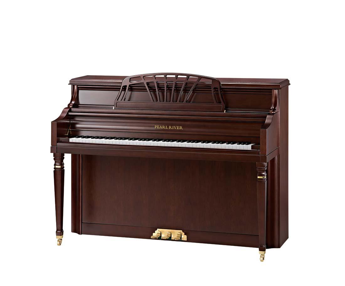 Pearl River Model UP110P10 Mediterranean Console Piano
