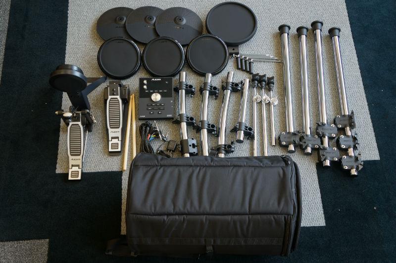 Alesis Forge Kit Eight-Piece Drum Kit