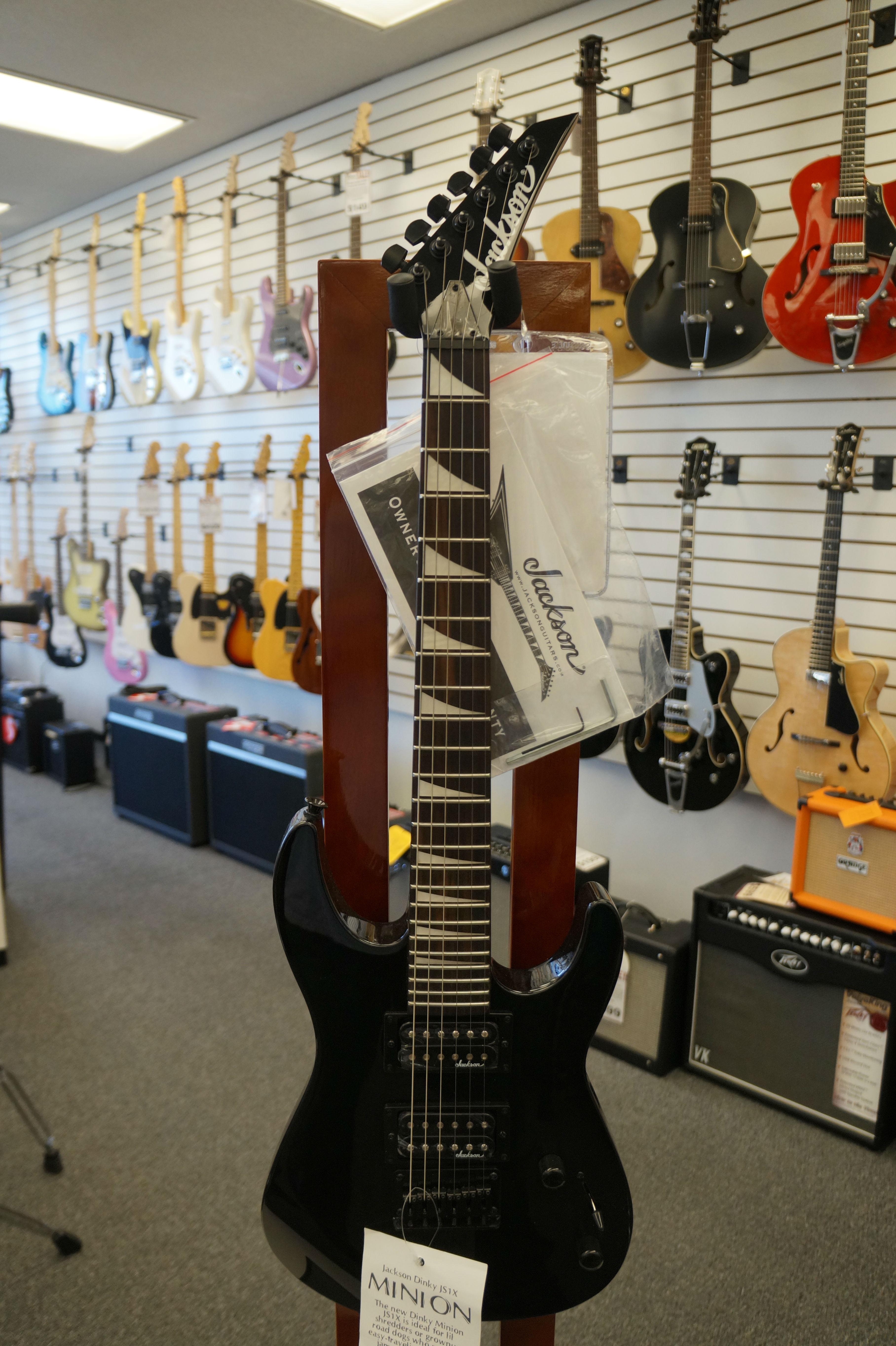 jackson js series dinky minion js1x electric guitar jim laabs music store. Black Bedroom Furniture Sets. Home Design Ideas