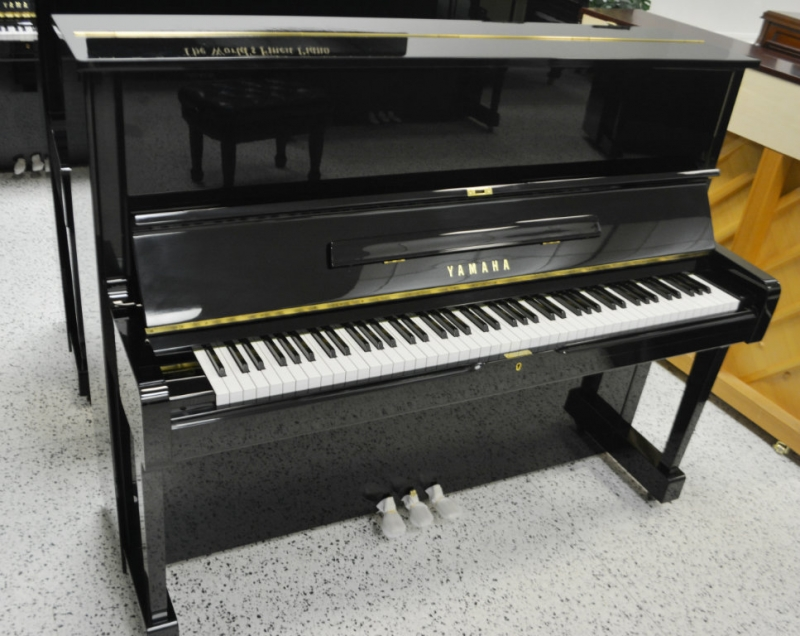 Yamaha u1 upright piano pre owned used jim laabs music for Yamaha upright piano models