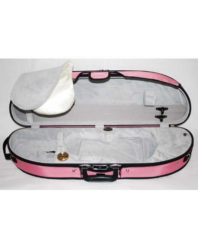 Bobelock 1047 Puffy Half-Moon Violin Case (Velvet)