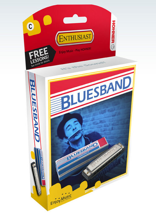 Hohner Bluesband Harmonica Key of C