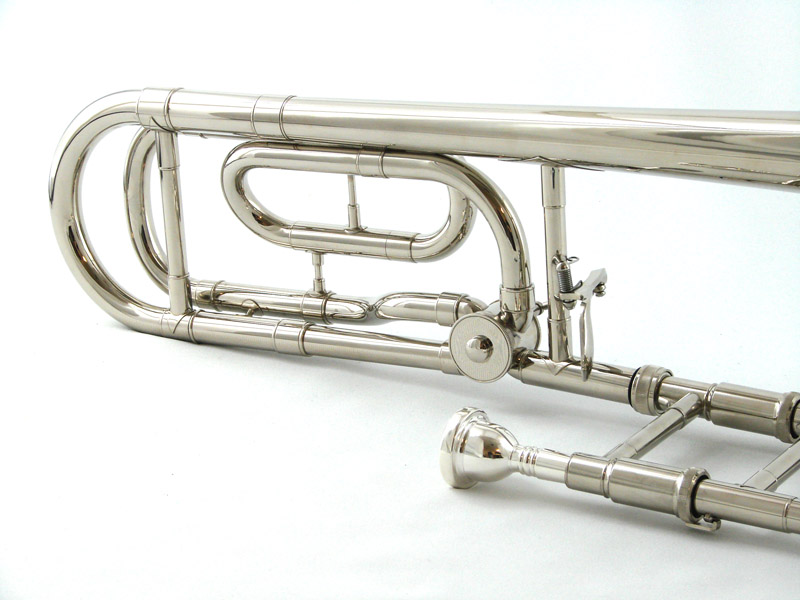 Schiller American Heritage Closed Wrap Nickel Trombone