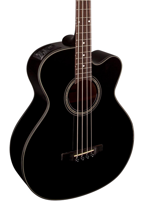 Takamine GB30CE-BLK Acoustic Electric Bass Guitar