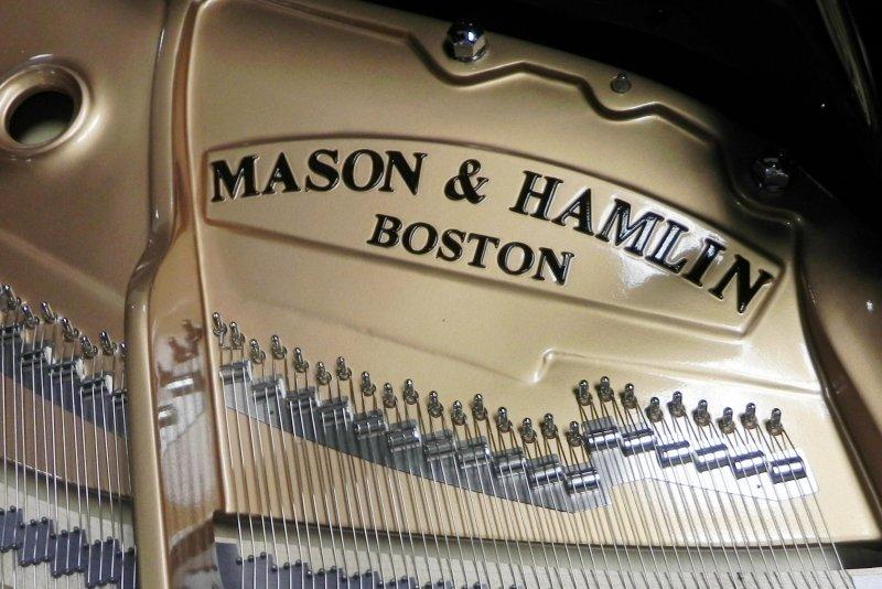 Mason & Hamlin BB Grand Piano Black Polish