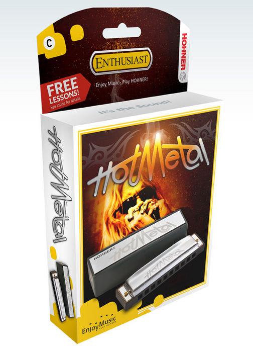 Hohner Hot Metal Harmonica