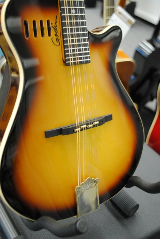 Godin A8 Electric Mandolin Cognac Burst [New Demo Model]