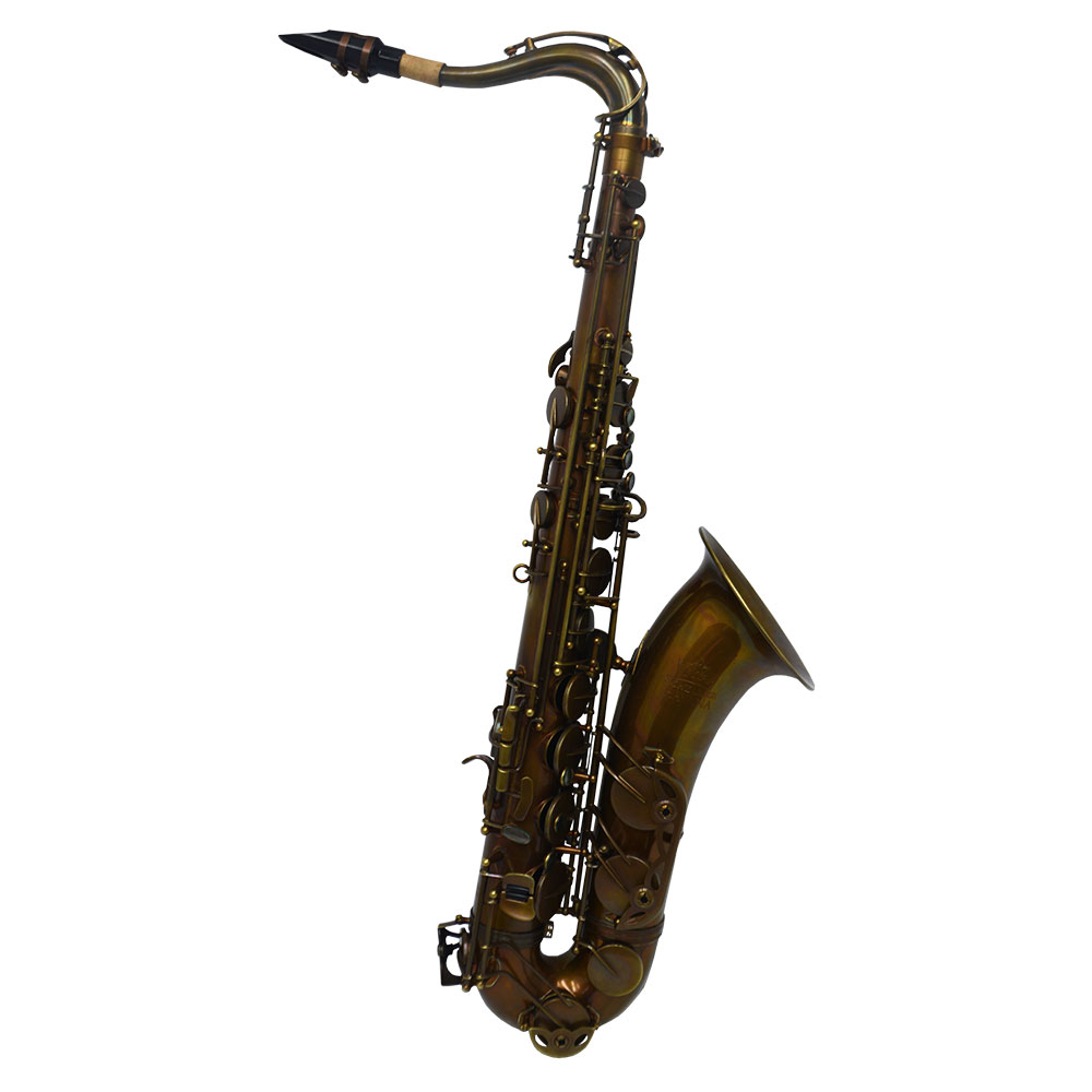 Schiller Havana Tenor Saxophone - Dark Unlacquered Duralast Finish