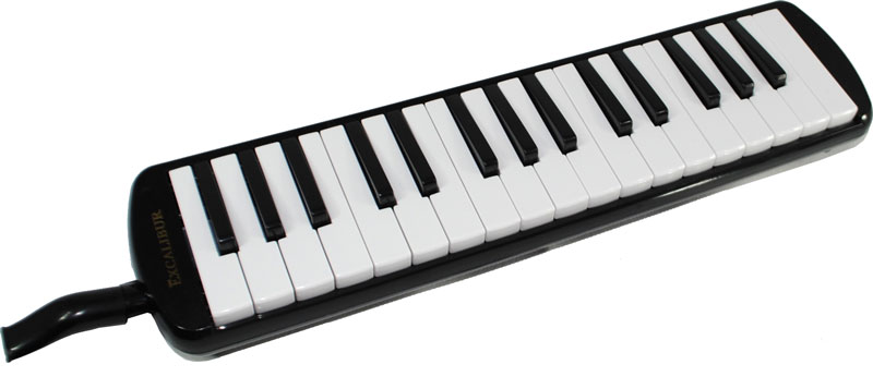 Excalibur 32 Note Pro Artist Series Melodica - Black