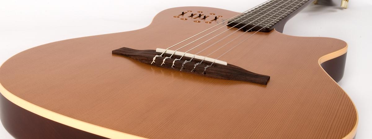 godin 35045 multiac nylon encore acoustic electric guitar jim laabs music store. Black Bedroom Furniture Sets. Home Design Ideas