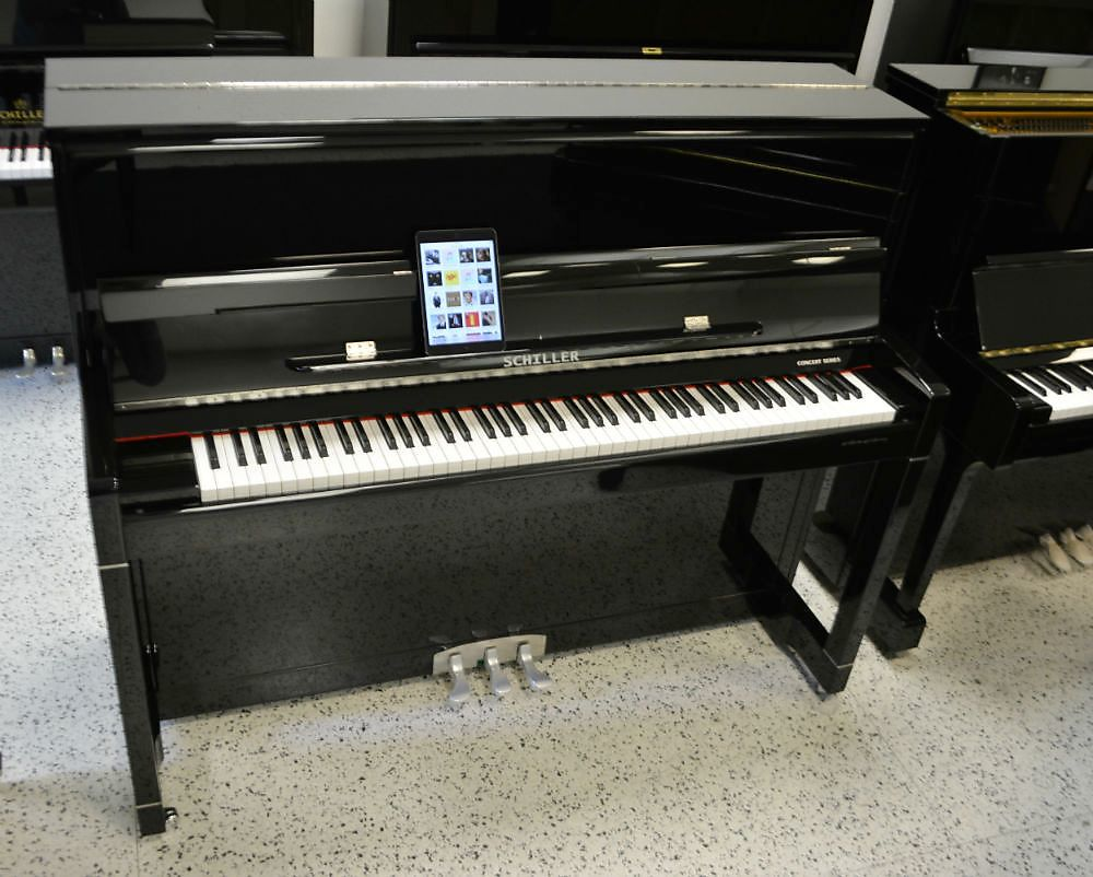 Schiller Concert Upright iPad Player Piano