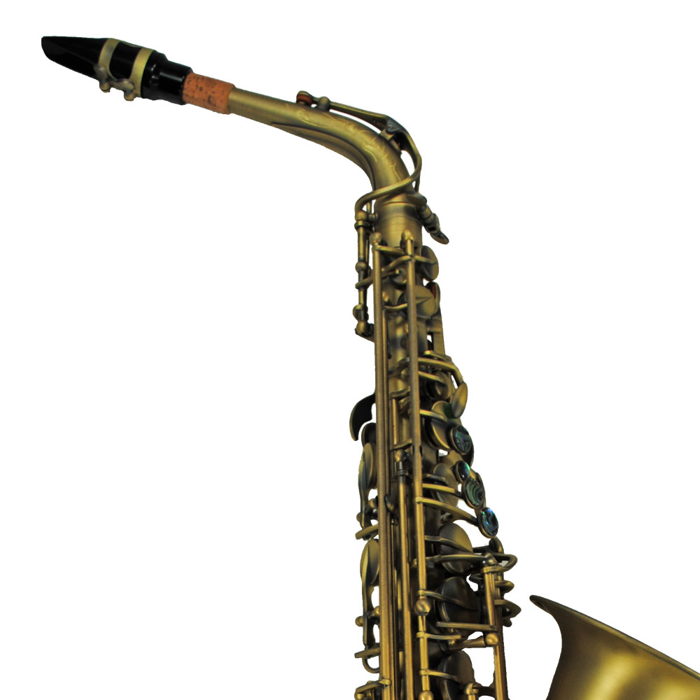 Schiller Elite V Luxus Vintage Alto Saxophone - Antique Gold