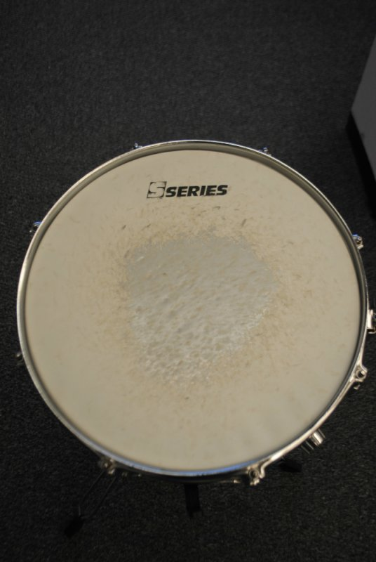 S Series Chrome Snare Drum w/Stand