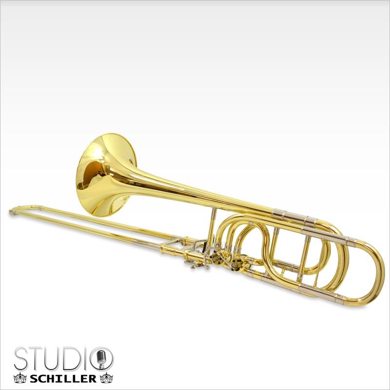 Schiller Studio Double Trigger Bass Trombone - Jim Laabs Music Store