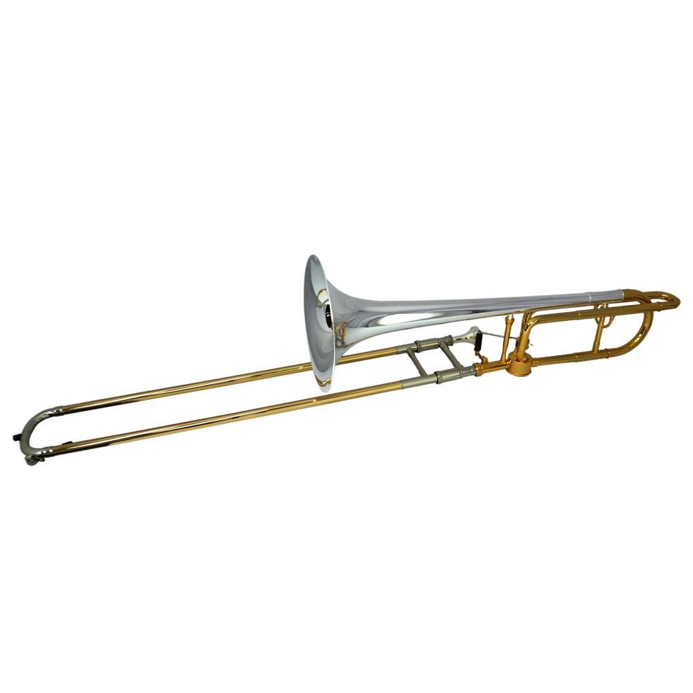 Schiller Studio Hagmann Swiss Made Silver & Gold Trombone