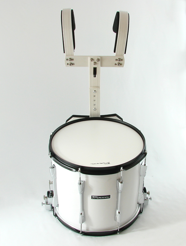 Trixon Marching Snare 14x12 white