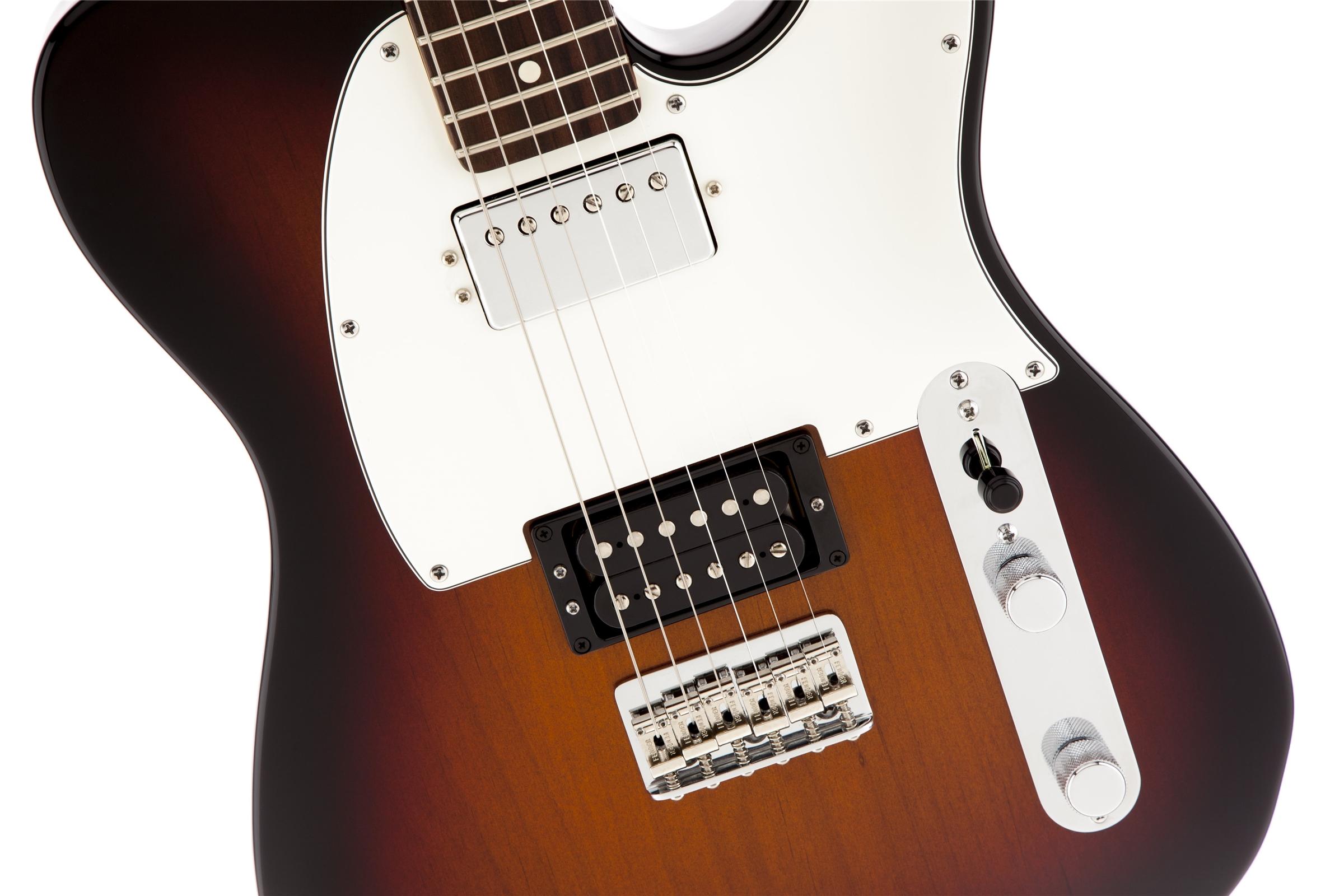 Fender American Standard Telecaster® HH 3-Color Sunburst RN Electric Guitar
