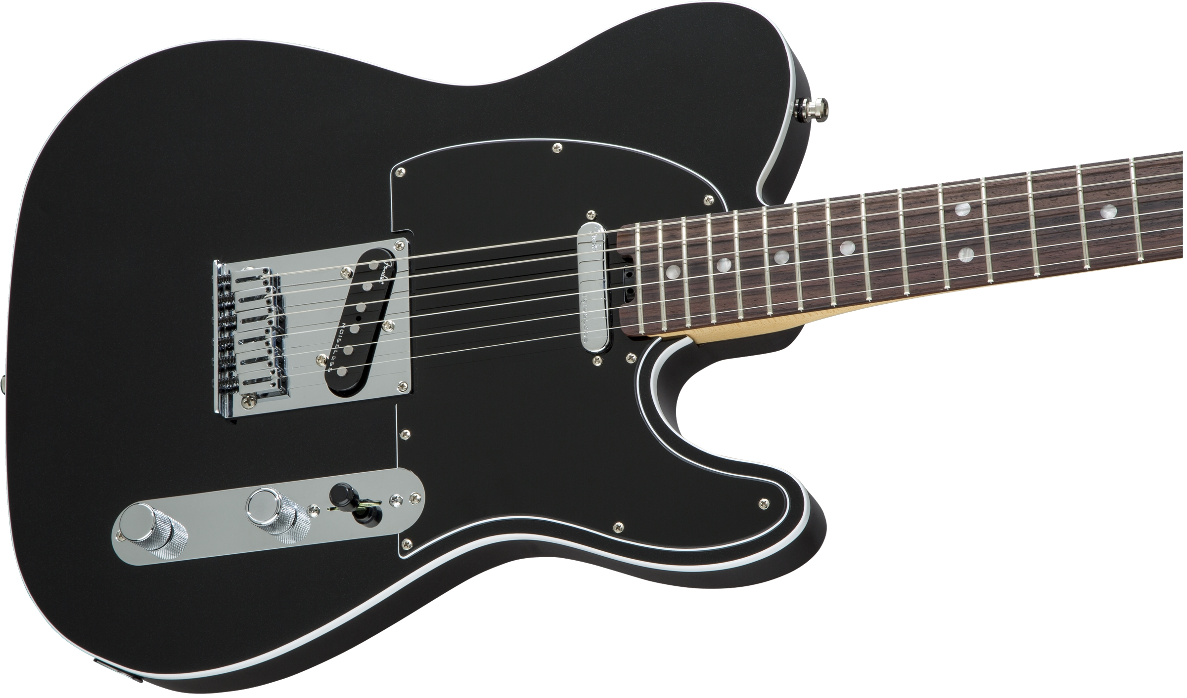 Fender American Elite Telecaster® Mystic Black Rosewood Fingerboard Electric Guitar