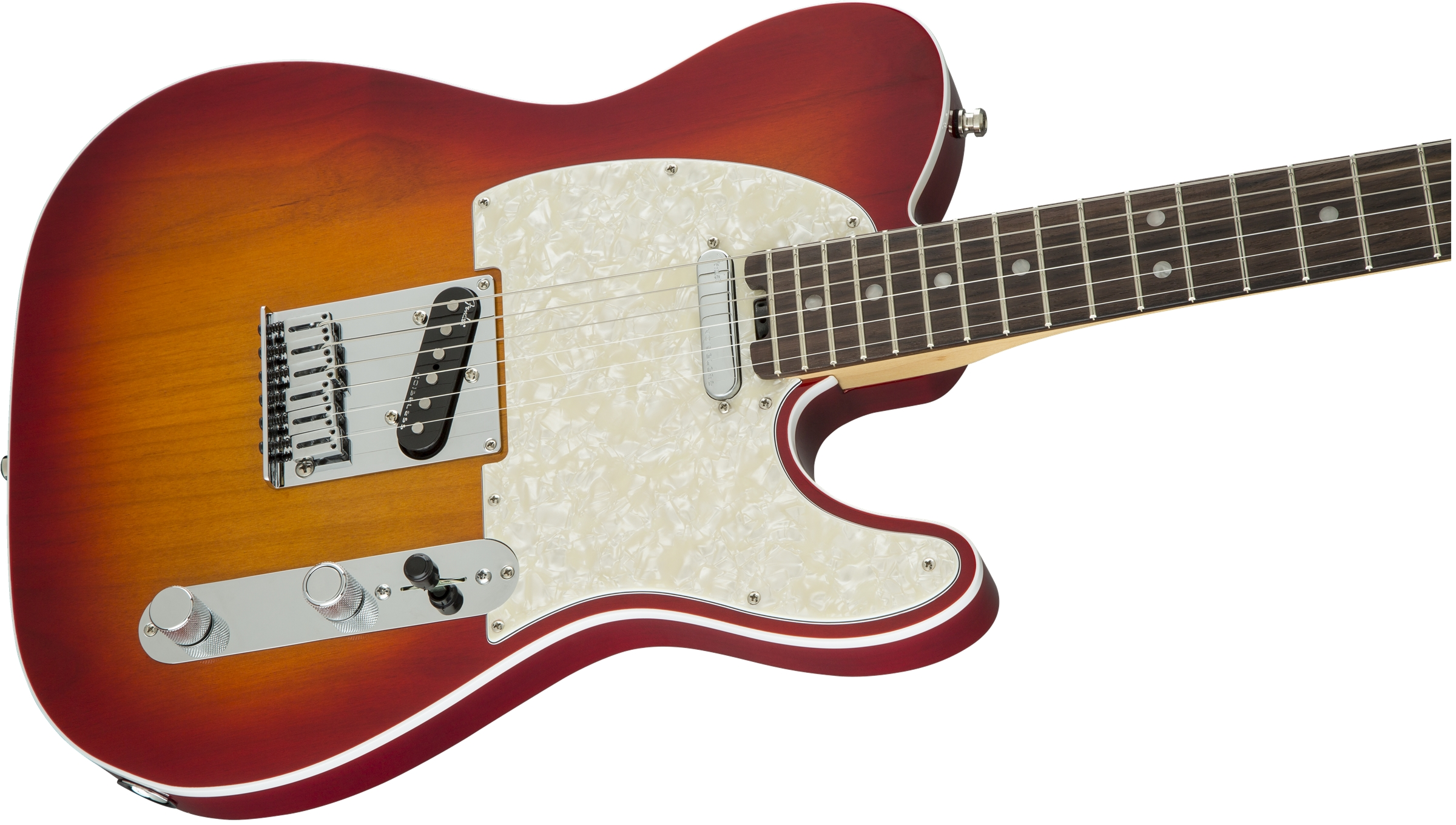 Fender American Elite Telecaster® Aged Cherry Sunburst Rosewood Fingerboard Electric Guitar