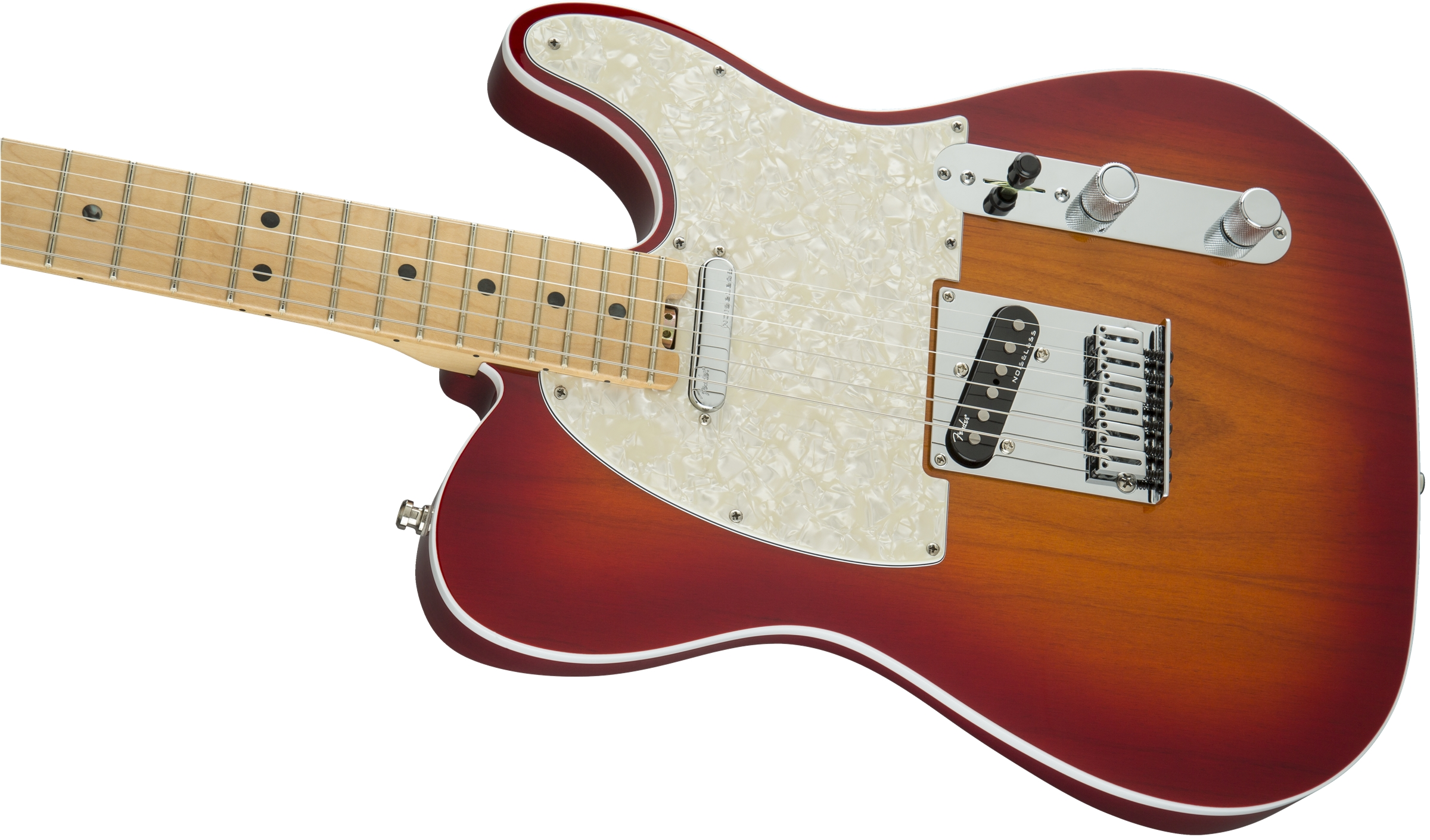 Fender American Elite Telecaster® Aged Cherry Sunburst Maple Fingerboard Electric Guitar