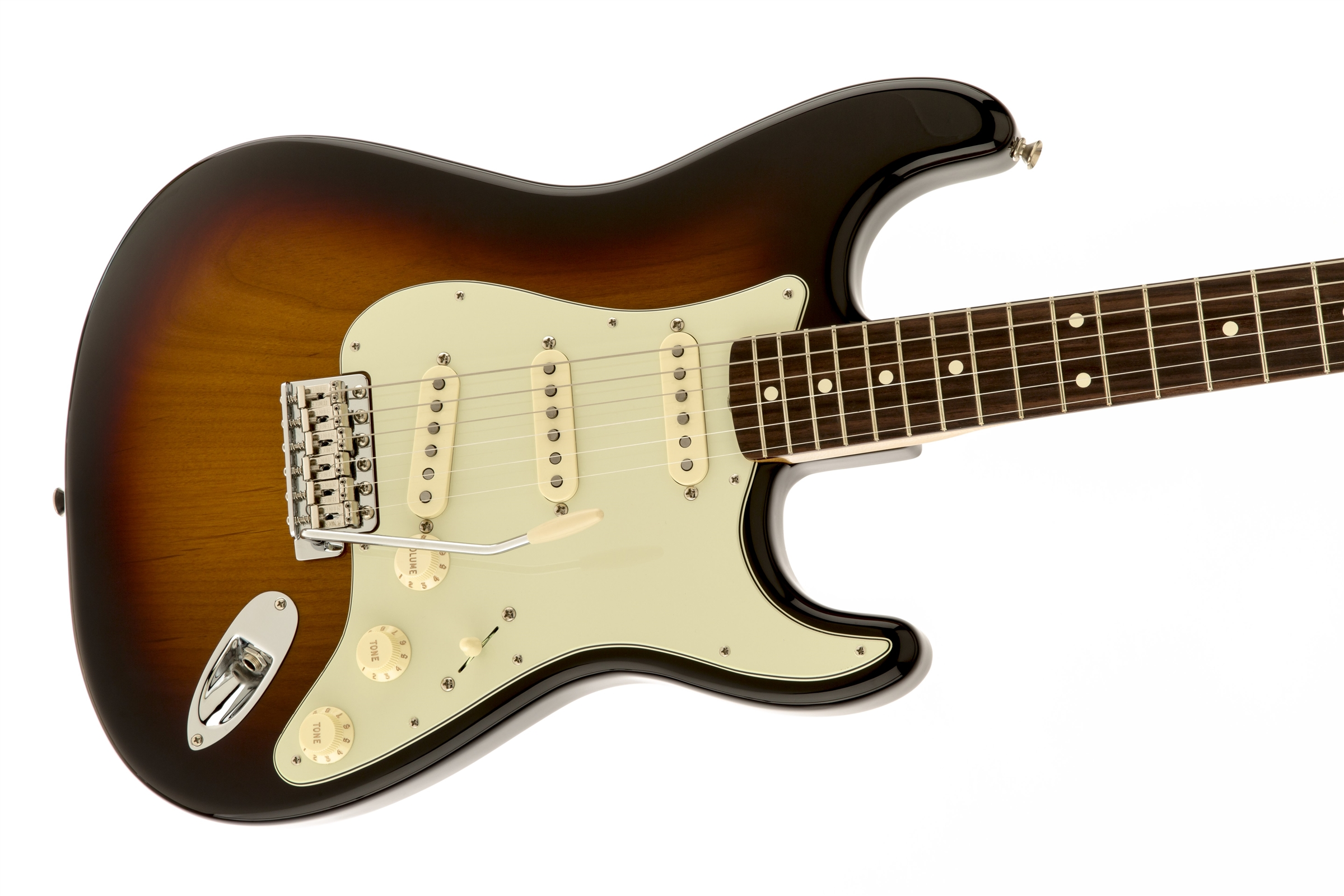 Fender Classic Series '60s Stratocaster® 3-Color Sunburst Rosewood Fingerboard Electric Guitar