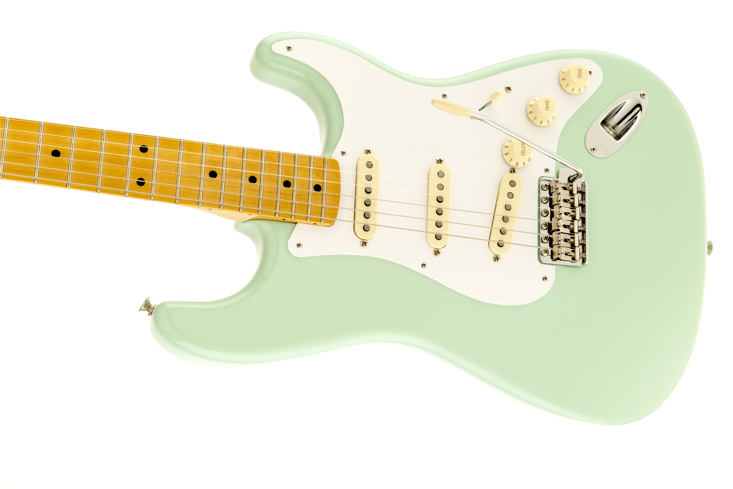 Fender Classic Series '50s Stratocaster® Surf Green Maple Fingerboard Electric Guitar