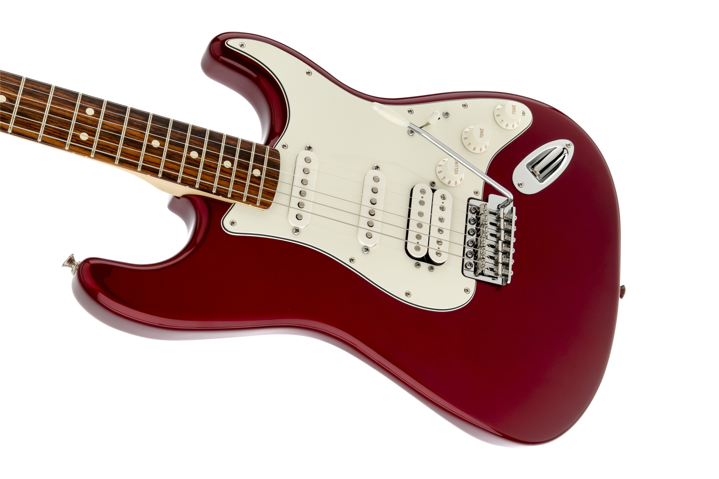 Fender Standard Stratocaster® HSS Candy Apple Red Rosewood Fingerboard Electric Guitar