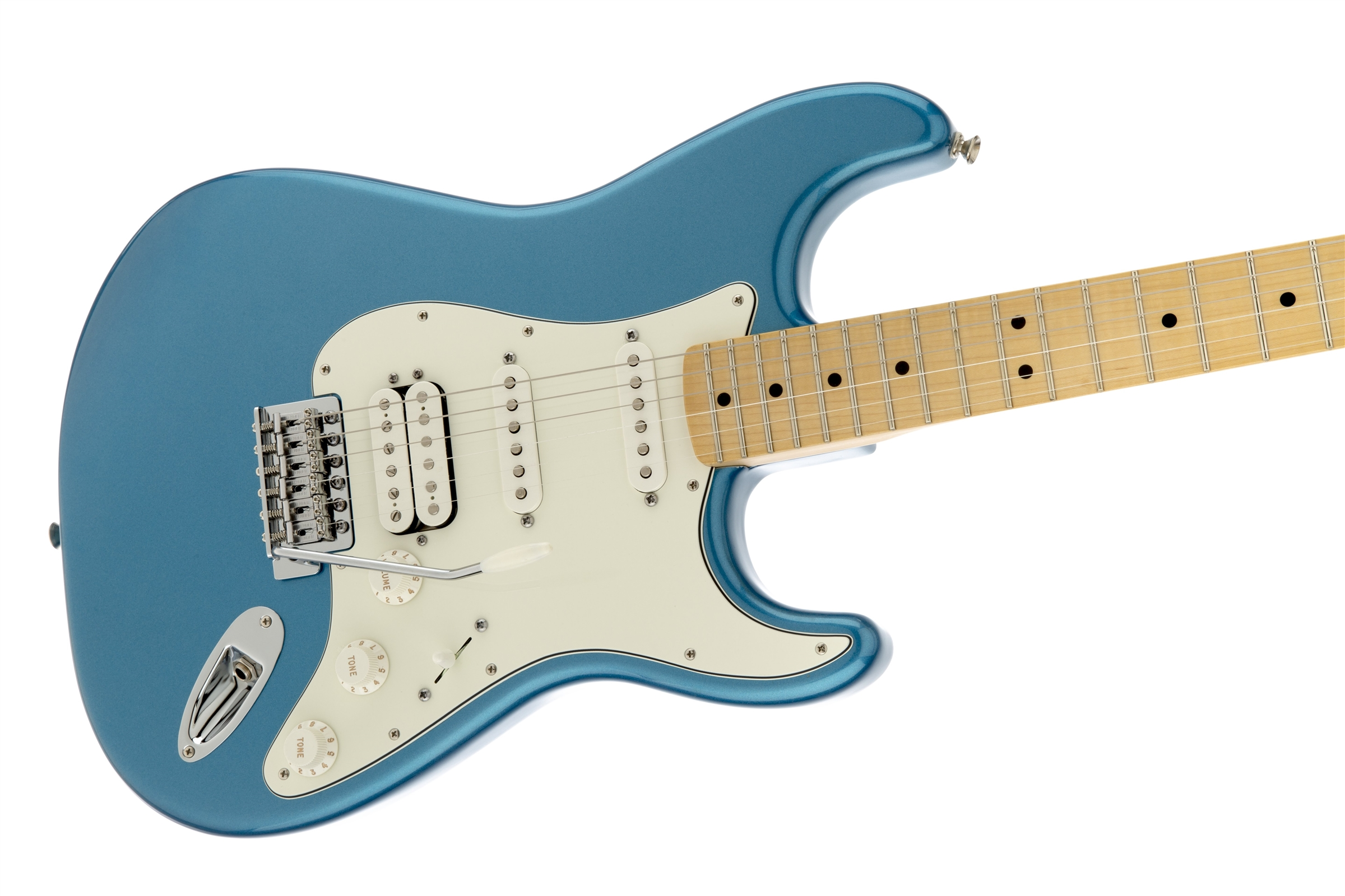 Fender Standard Stratocaster® HSS Lake Placid Blue Maple Fingerboard Electric Guitar