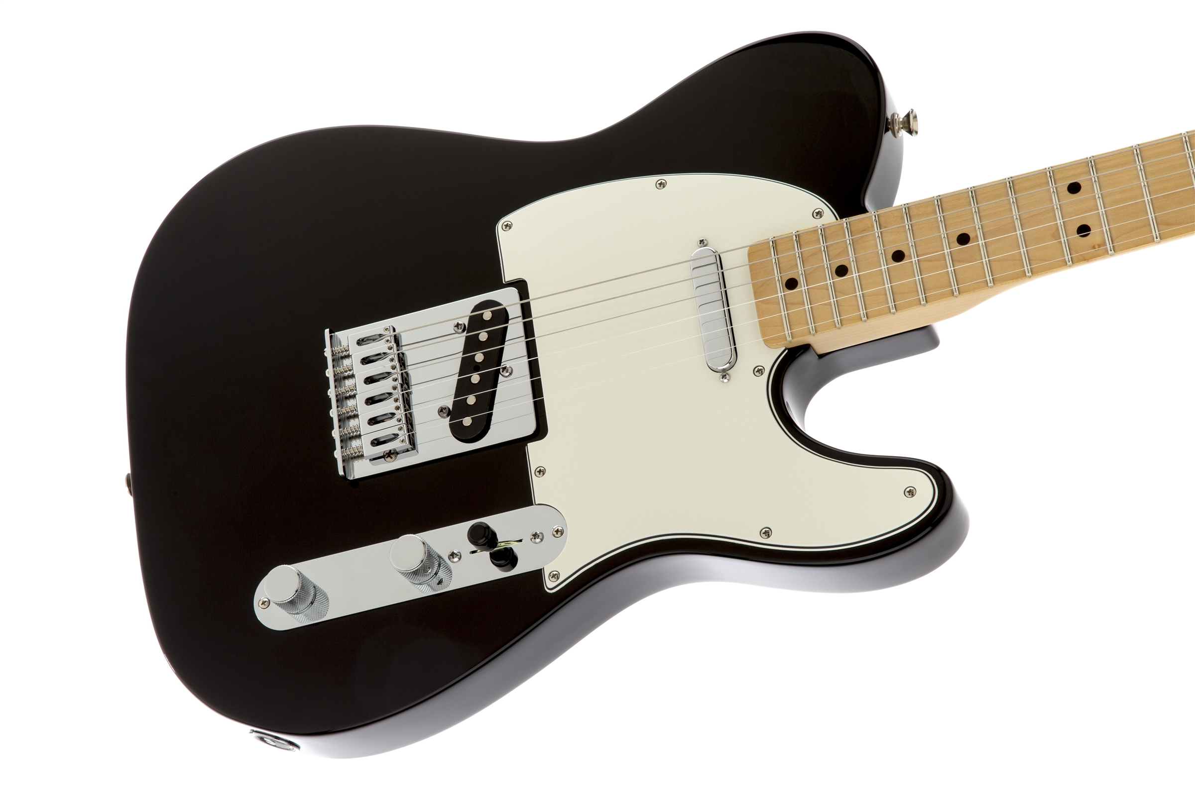 Fender Standard Telecaster® Black Maple Electric Guitar