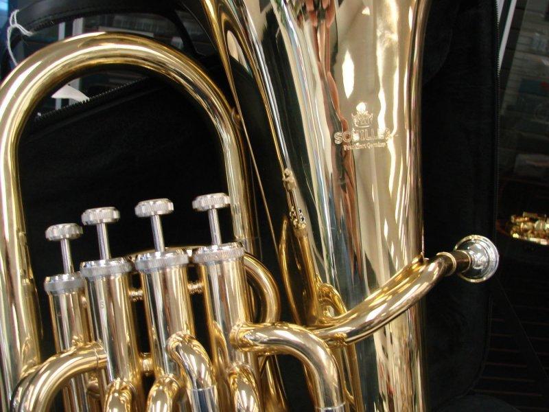 Schiller 4 Valve Euphonium-Rental Return