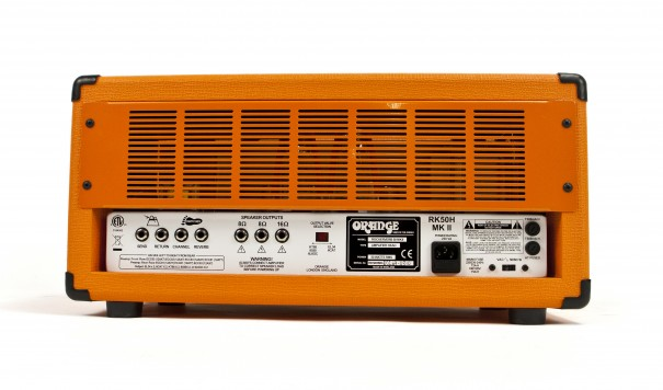 Orange Rockerverb 50 MKII Black Guitar Amp Head