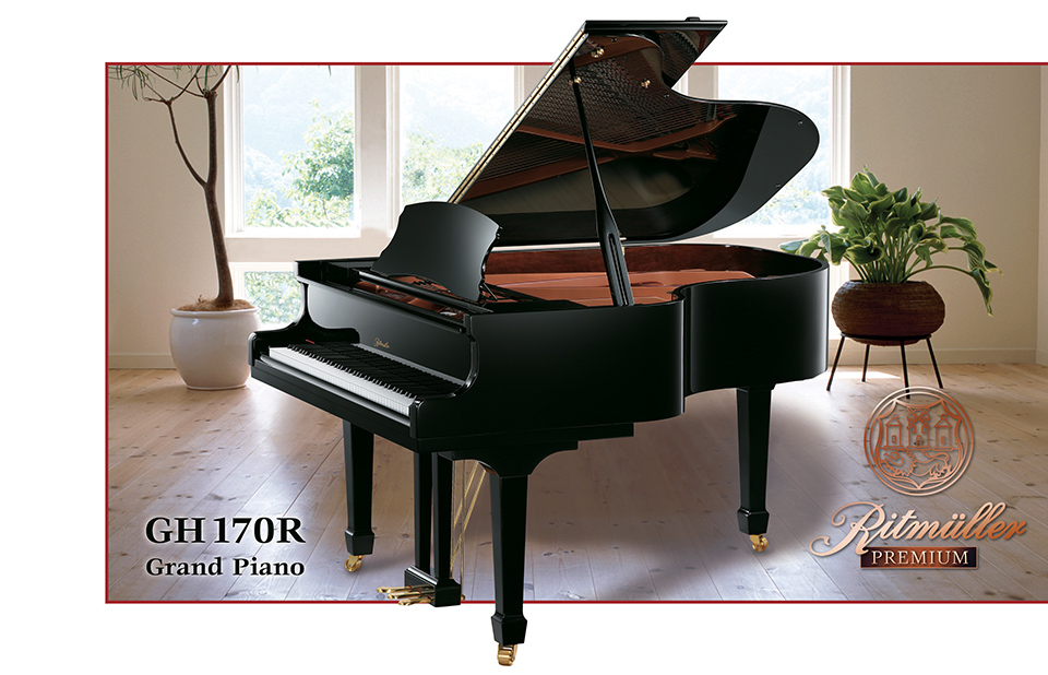 Ritmuller GH 170R Living Room Grand Piano