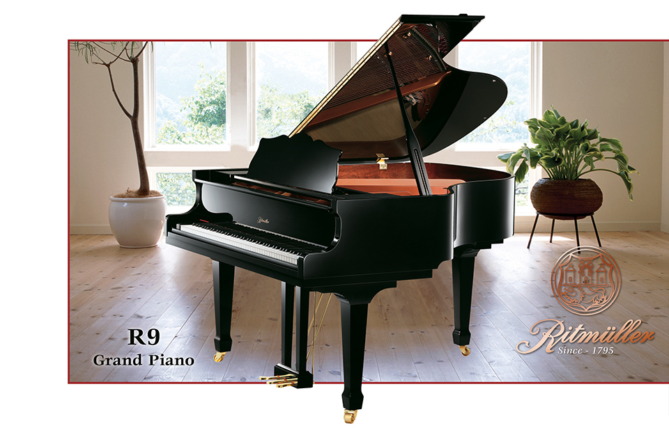 Ritmuller R9 Conventional Medium Grand Piano