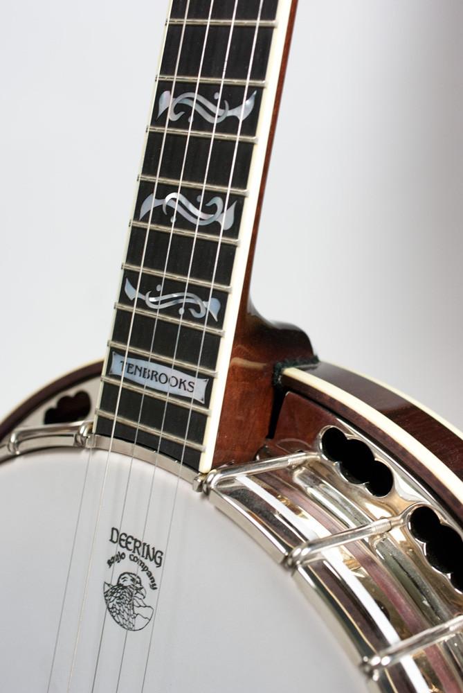 Deering Tenbrooks Saratoga Star™ Banjo w/ -06- Tone Ring & Radiused Fingerboard