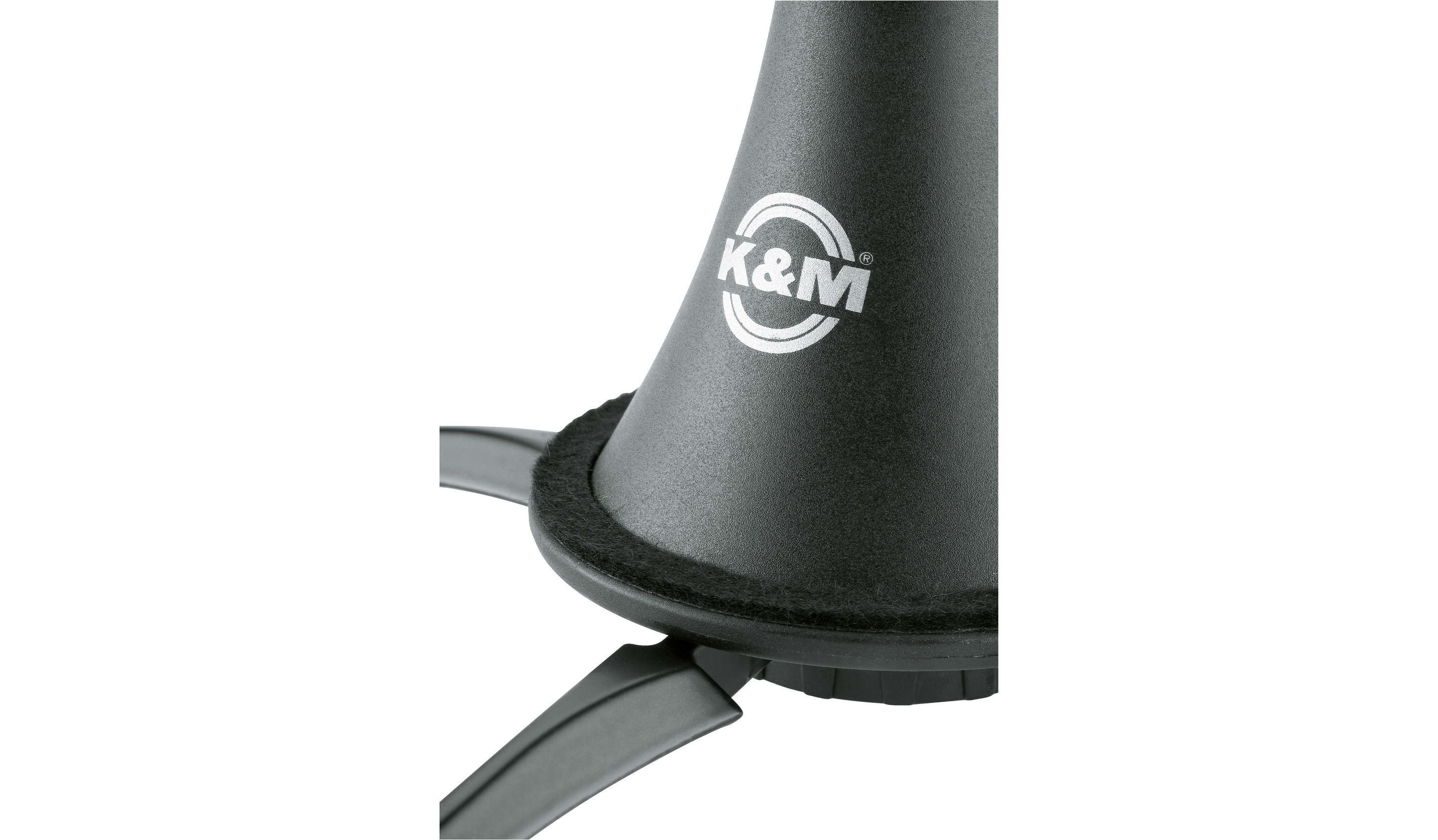 K&M 15225 Clarinet Holder Black