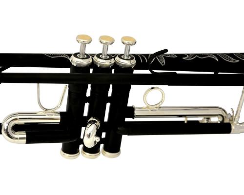 Schiller La Première Trumpet - Black & Silver