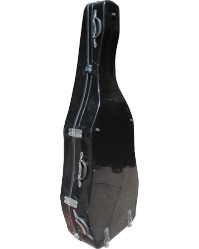 Enthral Professional Hardshell Bass Case Black Polish or Red Polish