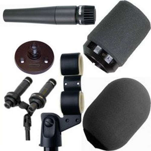 Shure SM57VIP Dual Microphone Kit