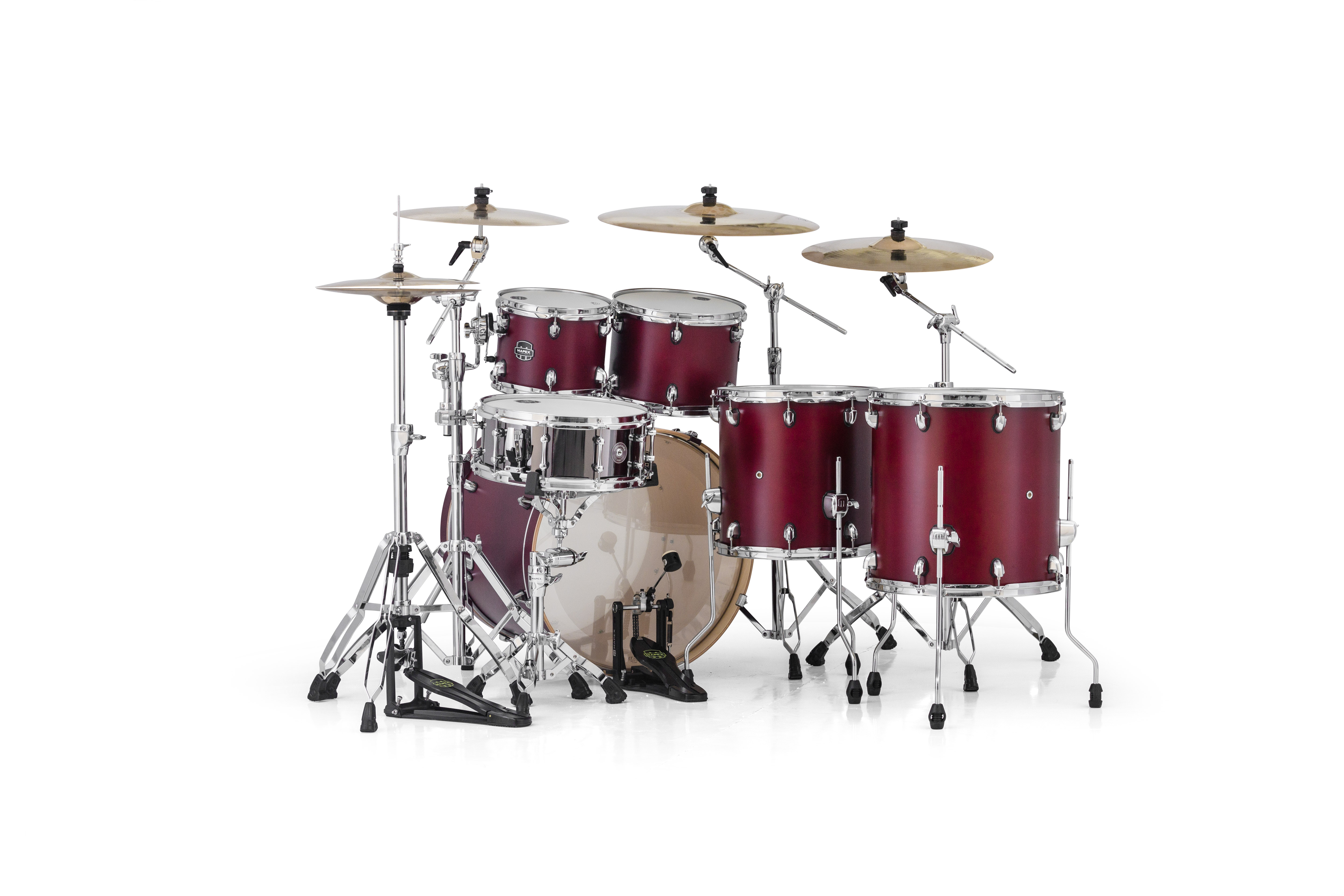 Mapex Armory 6 Piece Studioease Shell Pack - AR628SRE - Cordovan Red