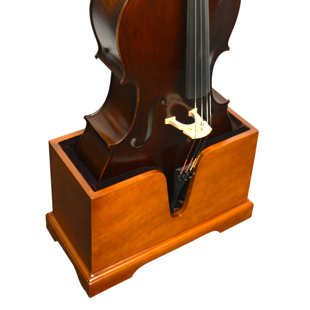 Vienna Strings Cello Stand With Bow Holder