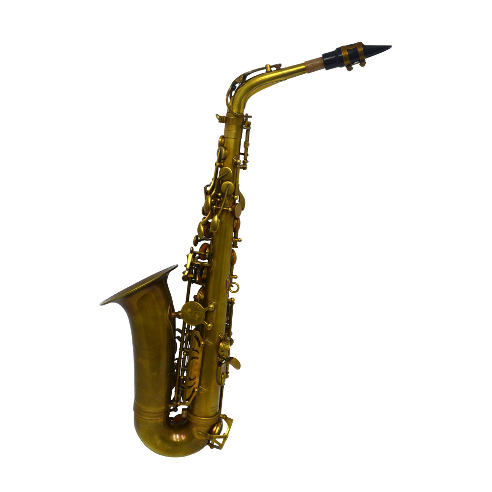 Schiller Havana Alto Saxophone - Light Unlacquered Duralast Finish