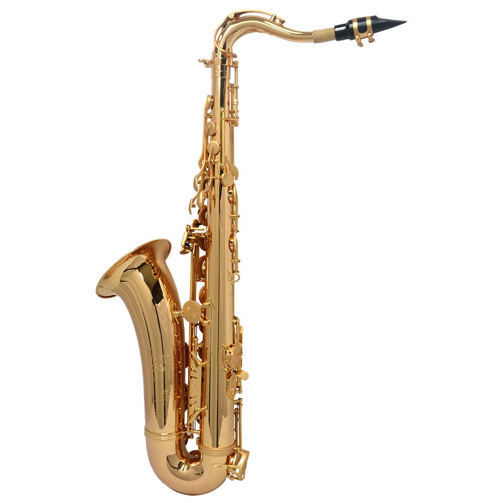 Schiller Havana Tenor Saxophone - Gold Gloss with Totem Keys